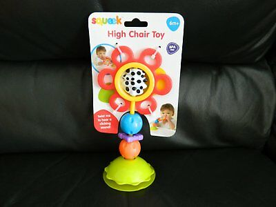 New Baby Toy  High Chair Toy By Squeek Age 6m+ BPA Free