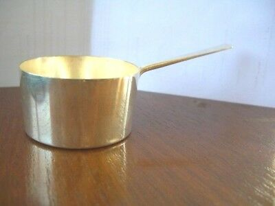 Vintage  Silverplate Brandy Warmer Toddy/Sauce Pan