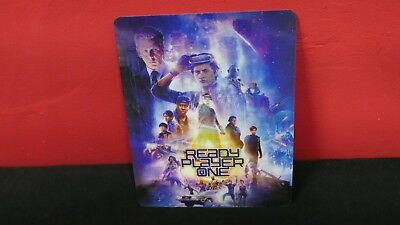 READY PLAYER ONE - 3D Lenticular Magnetic Cover Magnet for BLURAY STEELBOOK
