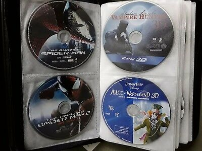 ANY ONE 3D BLU RAY MOVIE...pg1 DISC ONLY IN WHITE PROTECTED SLEEVE..BUY ORIGINAL