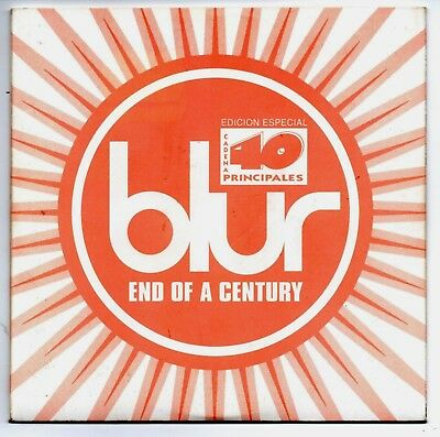 BLUR End of a century ACOUSTIC VERY RARE SPANISH PROMO CD SINGLE 40 PRINCIPALES