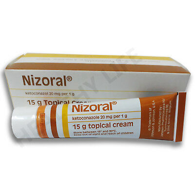 Nizoral Cream for Fungal Infection Dermatitis, Allergies, Athletes Foot - 15g