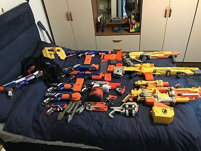 Job Lot Nerf Guns