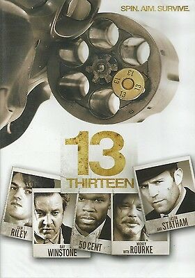 DVD  //  ( 13 )  THIRTEEN  //  Statham - Rourke - 50Cent  /  NEUF cellophané