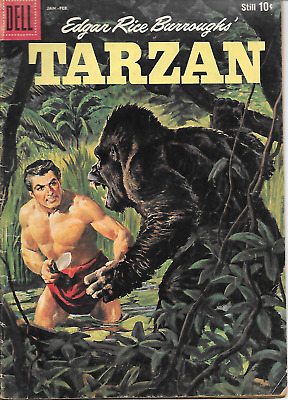 Tarzan #116 (Dell Comics, Jan 1960) 4.5 VG+