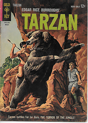 Tarzan #134 (Gold Key Comics, Mar 1963) 4.0 VG