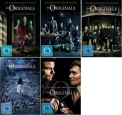 The Originals Staffel 1-5 (1+2+3+4+5) Die komplette Serie DVD Set NEU OVP