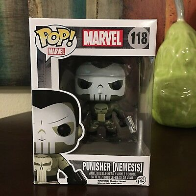 Funko Pop 118 Marvel Punisher Nemesis Vinyl Figure