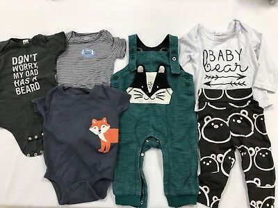 Lot Of Infant/baby Boy Clothes - Cat & Jack/carters