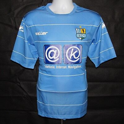 2011-12 Chemnitzer FC Home Football Shirt, Saller, Medium, *BNWOT*, Rare