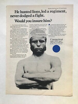 Connecticut Mutual Life Insurance Vintage 1971 Print Ad