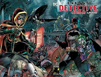 Detective Comics #1000 Jim Lee Standard Cover 3 27 2019