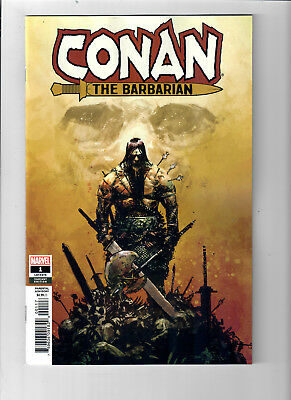 CONAN THE BARBARIAN #1 (2019) - Grade NM - 1 in 25 Gerardo Zaffino variant cover