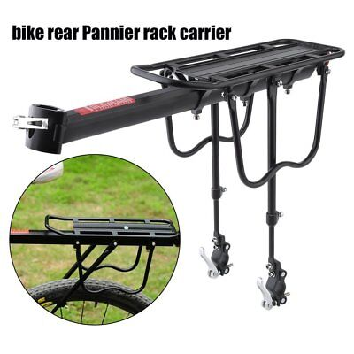 Quick Release Bicycle Rear Rack Bike Luggage Carrier Seatpost Bag Holder  H5