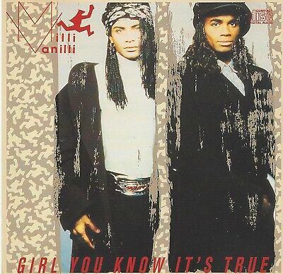 MILLI VANILLI Girl You Know It's True NM CD Rare & Out Of Print