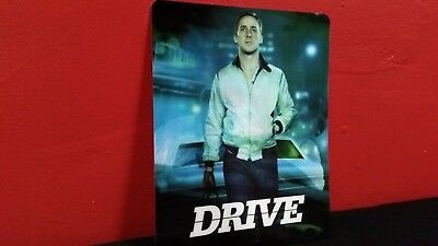 DRIVE - 3D Lenticular Magnetic Cover / Magnet for Bluray Steelbook