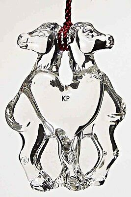 "SEALED NIB Waterford Marquis Crystal Noah's Ark Animal Two by Two ""CAMELS"""