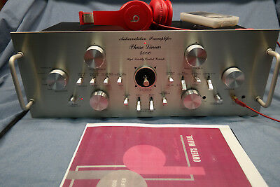 Phase Linear 4000 Series One/Two Preamplifier Professional Restoration Service