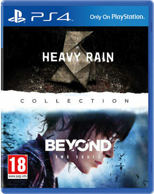 Heavy Rain Beyond Two Souls collection ps4 , 2 discs collectors playstation 4