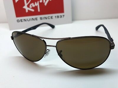 646d2bb163 RAY BAN RB 8313 Sunglasses 004 N5 Gunmetal Frames   Green Polarized ...