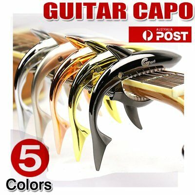 Premium Alloy Capo Quick Change Trigger Clamp for Guitar Banjo Ukulele 0W1