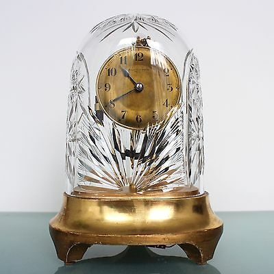 BULLE CLOCKETTE COSTA BODA CRYSTAL Dome Antique MANTEL CLOCK ONLY 2500 MADE RARE