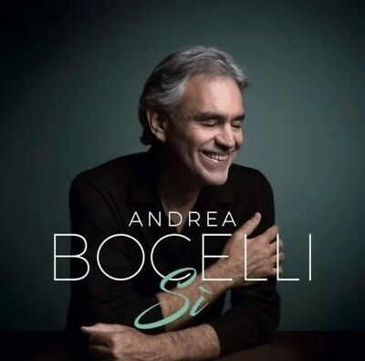 Andrea Bocelli - Si [New CD] Factory Sealed