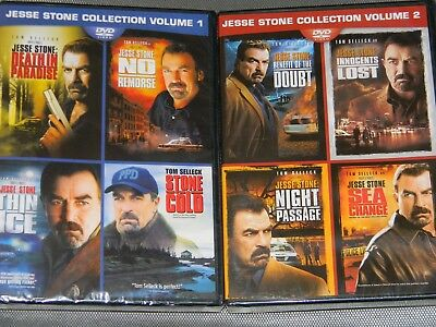 Jesse Stone: Complete 8 Movie Collection Tom Selleck DVD Bundle Set BRAND NEW!!