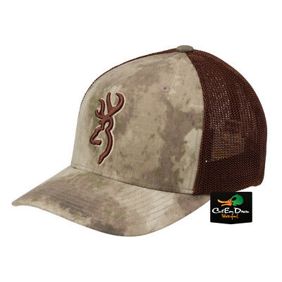 7904323b353 New Browning Speed Mesh Back Flex Fit Ball Cap Hat Atacs Au Camo