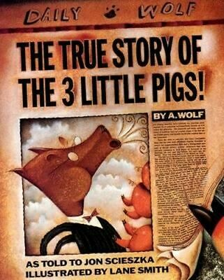 NEW The True Story Of The Three Little Pigs By Jon Scieszka Paperback