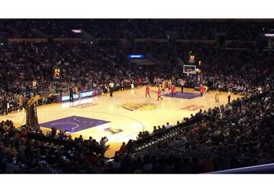 Lakers Vs 76ers, 2 Tickets Staples 7:30 Tues 1/29/19 Sec. 214, Row 7, Seats #1&2