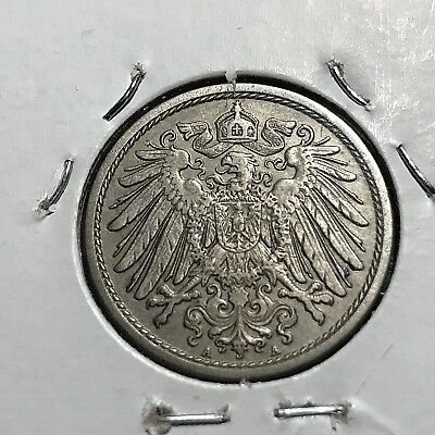 1910-A Germany Empire 10 Pfennig High Grade Coin
