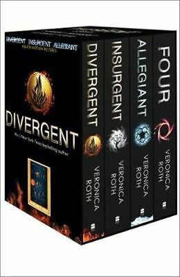 NEW Divergent Series Box Set  By Veronica Roth Paperback Free Shipping