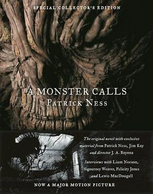 NEW A Monster Calls By Patrick Ness Hardcover Free Shipping