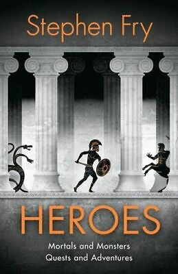 NEW Heroes By Stephen Fry Hardcover Free Shipping