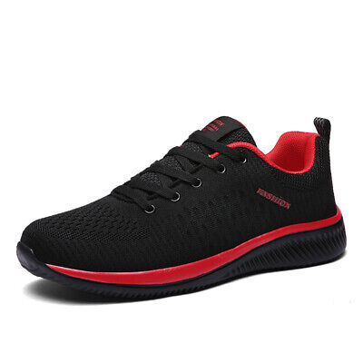 AU Autumn Men Running Shoes Breathable Light Gym Sports Walking Casual Shoes New