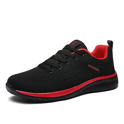 AU Mens Gym Running Sports Shoes Breathable Lightweight Casual Walking Shoes Hot
