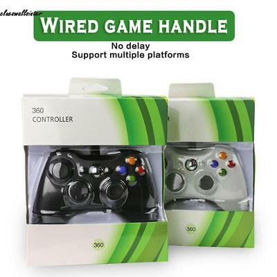 USB Wired Controller Game Pad Vibration Feedback For Microsoft Xbox 360 CLWR 03