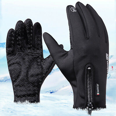 Paar Winter Handschuhe Skiing Warm Thermo Wasserdicht Finger Touch Screen