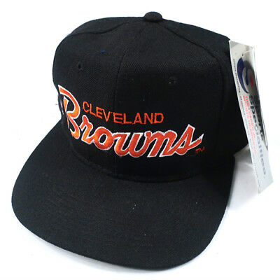 VINTAGE CLEVELAND BROWNS Sports Specialties Hat NWT NFL Football 90s ... d5f46f301ab9