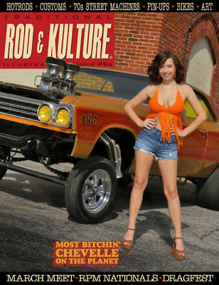 Traditional Rod & Kulture Magazine # 54 - Brand new direct from the Publisher!
