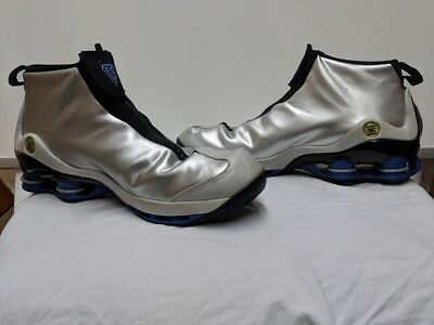 a9529762fe27 2002 NIKE SHOX VC 1 VINCE CARTER Silver US Size 15 Rare Size NO RESERVE Mint