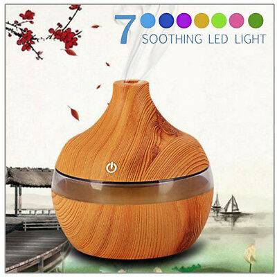 Essential Oil Ultrasonic Aroma Aromatherapy Diffuser LED Air Humidifier Purifier