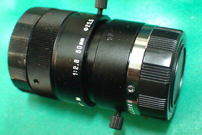 "TAMRON 21HC 2/3"" 50mm F2.8 Manual Iris C  industrial camera lens"