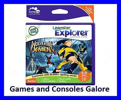 NEW LeapFrog LeapPad Leap Pad Ultimate Game - Wolverine And The X-Men
