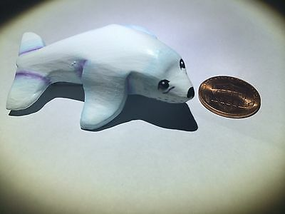 Seal Animal Pin Brooch Fashion Jewelry White Cute Face And Eyes Animals Large