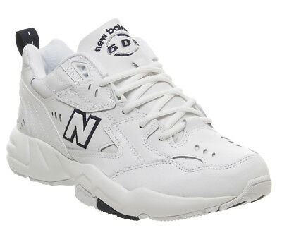 New Balance 608 Trainers White Navy Trainers Shoes