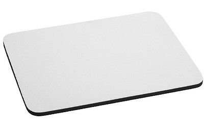 3mm Thick RECTANGLE WHITE MOUSE MAT Blank Sublimation Mouse Mats Rectangular