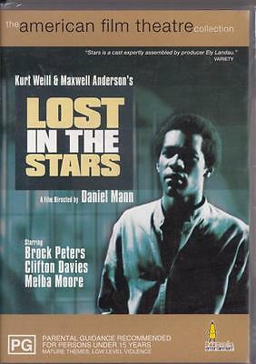 Lost In The Stars - Brock Peters  -New & Sealed Dvd- Free Local Post