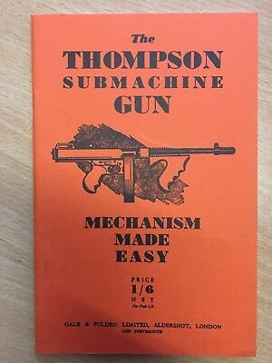 The Thompson Submachine Gun Mechanism Made Easy (Paperback)